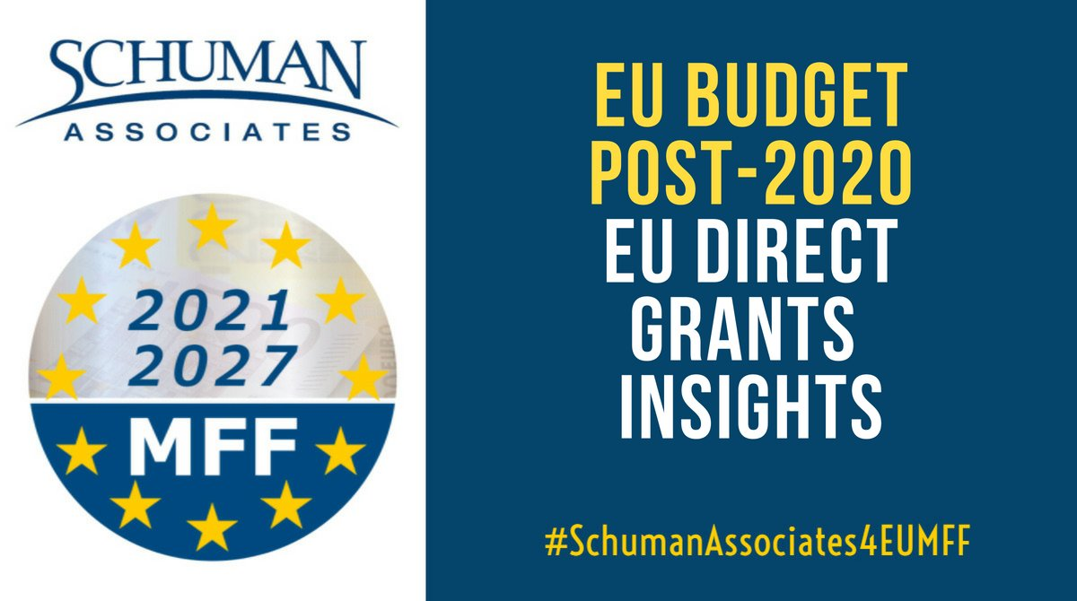 EU budget proposal boosts allocations for direct grants funding programmes
