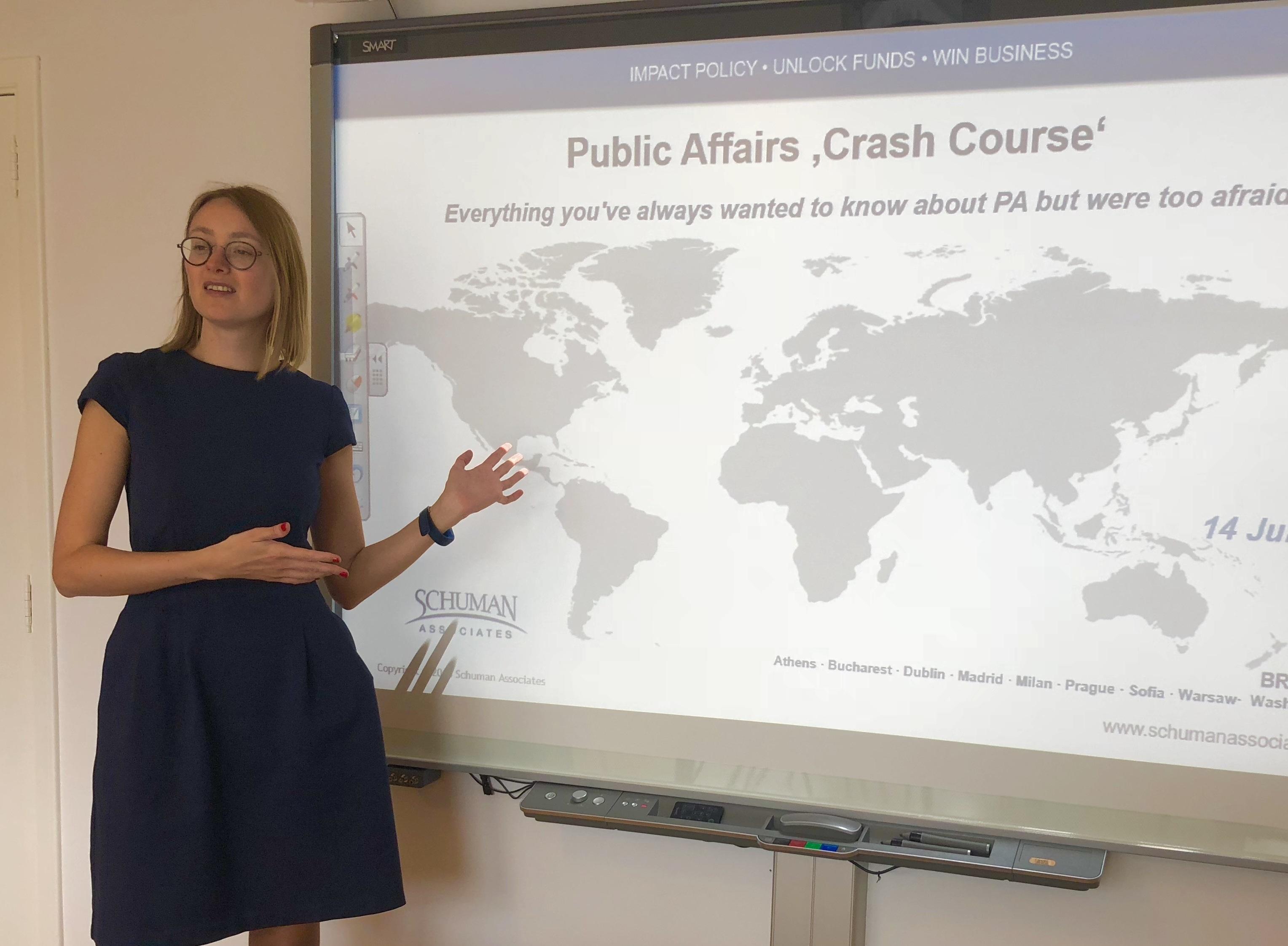 Public Affairs Training Courses