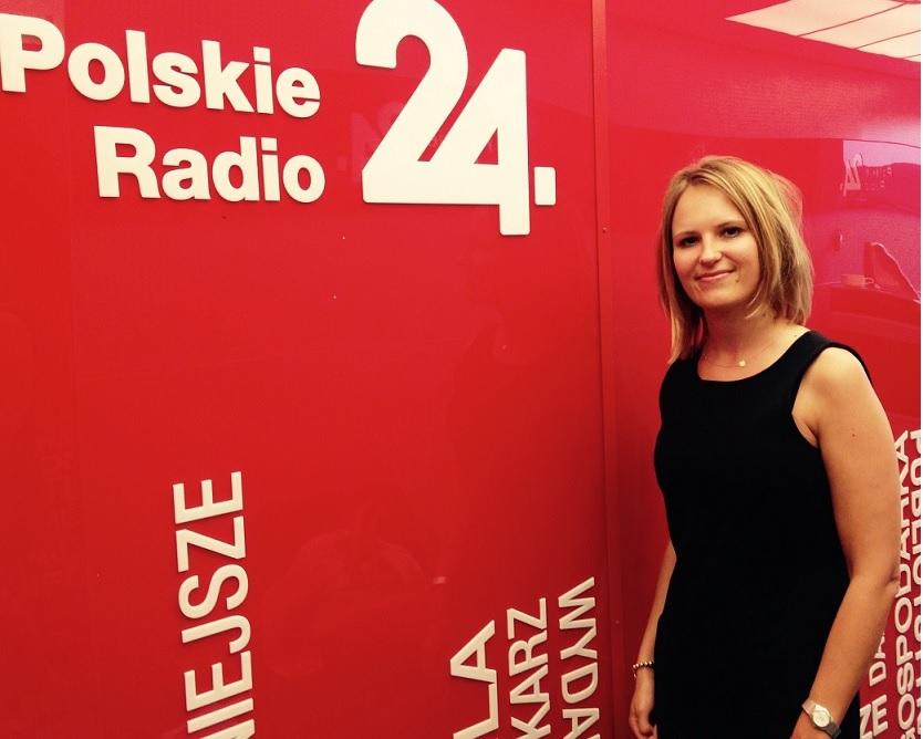 Małgorzata Stępniak live from Warsaw