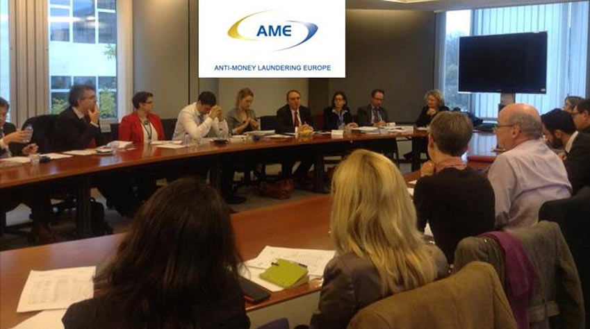 AME- Anti Money Laundering Europe Meeting at the European Parliament