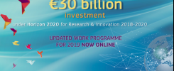 European Commission updates Horizon 2020 Work Programme for 2019
